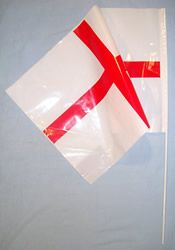 Plastic Hand Held Flag St. Georges. Great fun to hand out and wave to cheer on England. http://www.novelties-direct.co.uk/St.-George-s/England-Plastic-Hand-Held-Flag-Novelties-Direct.html