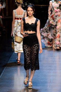 fc9d5de34a6 lingerie inspired Dolce   Gabbana