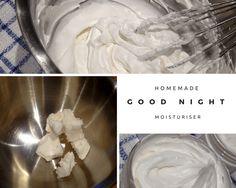 Anhydrous night cream