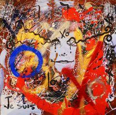 I am charlie, je suis charlie, art for freedom, charlie hebdo,parody prayers by grace divine, contemporary art gallery, free
