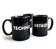 Detroit Techno mugs