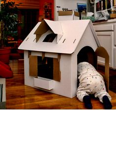 cardboard house to color or not.  $59