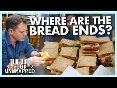 What Happens to the Bread Ends of Store Bought Sandwiches? | Food Unwrapped - YouTube Foods To Avoid, Vitamins And Minerals, Bread Recipes, Sandwiches, Shit Happens, Paninis