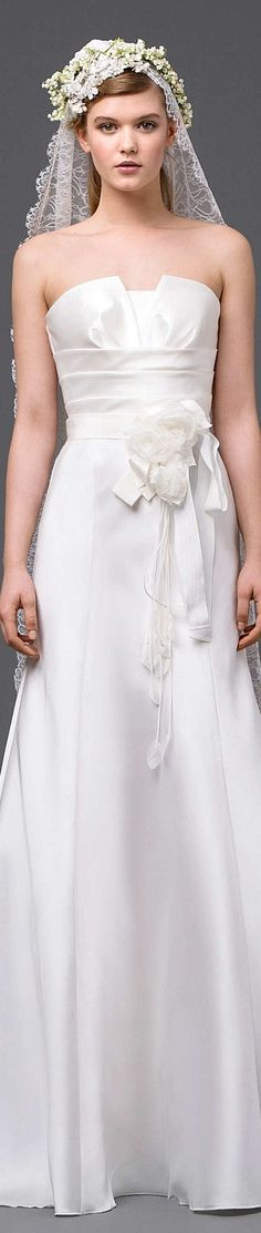 Alberta Ferretti Collection  Spring 2015 Bridal #Provestra #Skinception #coupon code nicesup123 gets 25% off