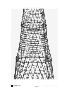 Alexander Abaza Shukov's Mast, Moscow, Shabolovka,1895, silver gelatin print