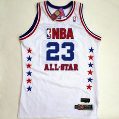 8c8f15f596b Details about 100% Authentic Michael Jordan 2003 All Star Game Pro Cut  Jersey Size 48+2 XL
