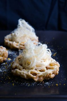 Orange and Cardamom Funnel Cake