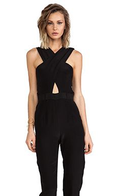Maurie & Eve Glow Jumpsuit in Coal | REVOLVE