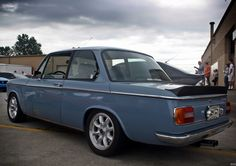 BMW... Now I miss my 1502, same colour too. If you ever get the chance to, drive one! Own one! :-)