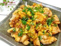 蔥醬雞塊食譜、作法 | hanaskichen的多多開伙食譜分享