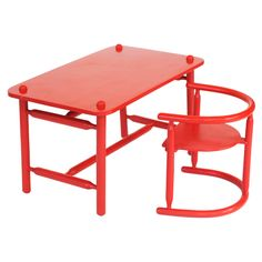 1stdibs.com | 'Anna' Children's Armchair / Table