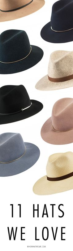 How to wear a floppy hat