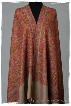 The Kashmir is Forever - Jamawar Pashmina Paisley Shawl Cashmere Pashmina, Pashmina Shawl, Indian Fabric, Indian Textiles, Kashmiri Shawls, Indian Designer Wear, Timeless Fashion, Couture, Indian Fashion