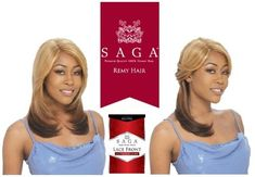 SAGA 100 REMY HUMAN HAIR LACE FRONT WIG  INVISIBLE PART  SECRET  TP27 * Check out the image by visiting the link.(This is an Amazon affiliate link and I receive a commission for the sales) #HairWigs