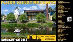 Kunst Offen 2014  Kunst Offen – Fluss – Kunst -Recknitz (2)