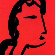Henri Matisse, Face in Profile, 1951.