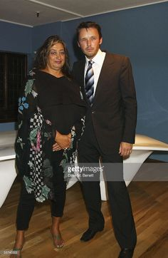 Zaha Hadid and Alasdhair Willis attend the Established & Sons launch party at Liberty September 21, 2005 in Central London, England. The company, set up by Alasdhair Willis, is trying to help promote the best young furniture designers in England.