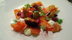 Salad of confit salmon @ Flemings Grill