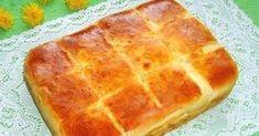 Easy sheet bread with feta cheese/ Bulgarian recipe Eastern European Recipes, European Cuisine, Enjoy Your Meal, Cheese Pies, Bulgarian Recipes, Home Baking, Tasty Bites, Food Humor, Dough Recipe
