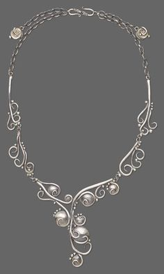 Single-Strand Necklace with PMC+™ (Precious Metal Clay) - Fire Mountain Gems and Beads