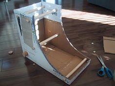 Hearts on Fibre: DIY Cardboard Box Inkle Loom Tutorial