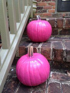 Paint your pumpkins
