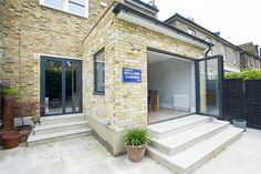 East Dulwich, SE22, Rear Extension on a Victorian Terraced House in East Dulwich, SE22, Greater London, Flat Roof, Open Plan Design, Contemporary Kitchen, Kitchen Extension, Bi-Fold Doors, French Doors, U Shaped Kitchen, Kitchen Extension Ideas, Kitchen Interior, Kitchen Design Ideas