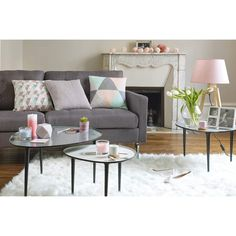 1000 id es sur le th me tables gigognes sur pinterest - Table basse beton maison du monde ...