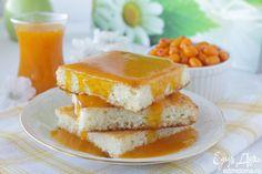 Манник творожный с облепиховым соусом. Отличный вариант очень вкусного завтрака - воздушная запеканка с витаминным облепиховым соусом. Хорошей вам пятницы! #edimdoma #cookery #recipe #morning #breakfast #friday #summer