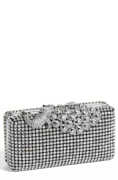 For glitz and glam, add a sparkly clutch.