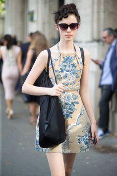 25 of the best street style from couture week 2015. Mode Printemps Été,  Vêtements 480a6a58d47