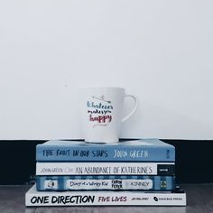 Bookstagram || Blue and White