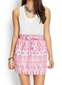 Geo Woven Skirt