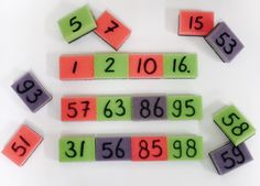 Als je zo op internet speurt kom je een heleboelleuke dingen tegen! Zo kwam ik ook veel oefeningen voor bewegend leren tegen. Hetleek mij super om Math For Kids, Fun Math, Activities For Kids, Msv, Starters, Nail Designs, Circuit, School, Internet