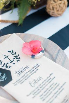 Nautical place setting | Wedding & Party Ideas | 100 Layer Cake