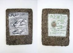 "Saatchi Art Artist Maia S Oprea; Collage, ""LINE TABLET #4"" #art"