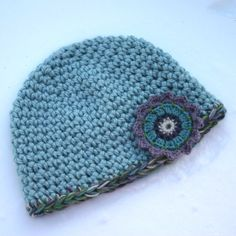 Free Crochet Pattern - The Quickest, Easiest Hat