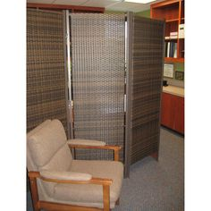 This beautiful wicker room divider screen is sturdy and can be used outdoors as well as indoors bringing natural elements into the environment. Wicker Tray, Wicker Table, Wicker Furniture, Wicker Couch, Wicker Purse, Wicker Planter, Wicker Shelf, Space Furniture, Wicker Baskets