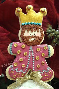 Gaspar cookies hecha por algunos niños españoles