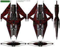 Narn G'Qoun Heavy Cruiser from Babylon 5