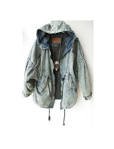 90's Style Denim Jacket - yes. Please. I'd rock this.