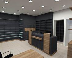 sxediasmos_epiplosi_Anakainisi_Kennis_Vasilis Boutique Interior, Boutique Chic, Showroom Interior Design, Jewelry Store Design, Clothing Store Design, Supermarket Design, Retail Store Design, Mobile Shop Design, Shop Shelving