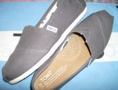 Can't wait for my grey TOMS to get here! #OneForOne. Love these shoes so much.