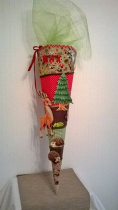 Schultüten - Schultüten Bastelset Waldtiere crea pop - ein Designerstück von Deko-Huette-Material bei DaWanda