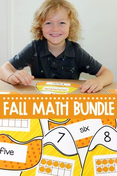 This bundle of fall themed early numeracy activities are sure to be a hit with your students. Students learn to count and write numbers to 20 with these interactive math activities! Great for kindergarten math centers or first grade math centers! Kindergarten Math, Preschool, Numeracy Activities, Subitizing, Learn To Count, First Grade Math, Autumn Theme, Student Learning, Math Centers