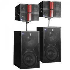 Es un sistema lineal con control DSP de la serie K-LA-DSP está diseñado específicamente para aplicaciones intermedias e intermedias-altas. Speaker Plans, Speaker System, Pro Audio Speakers, Dj Setup, Sonos, Bose, Home Theater Rooms, Dj Equipment, Music System