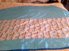 """Back of """"Quilt for Mom"""""""