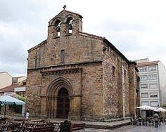 Avilés - Iglesia de Sabugo, en la Plaza del Carbayo.