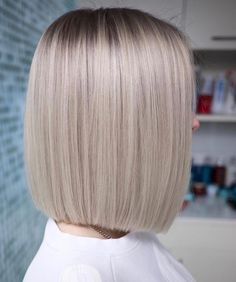 Best Hairstyles for Short Hair - Hair & Beauty Straight Bob Haircut, Haircut Bob, Curly Hair Styles, Natural Hair Styles, Natural Curls, Pixie Styles, Haircut And Color, Blonde Balayage, Balayage Highlights