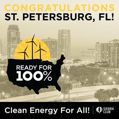 Saint Petersburg Becomes First Florida City to Commit to 100% Renewable